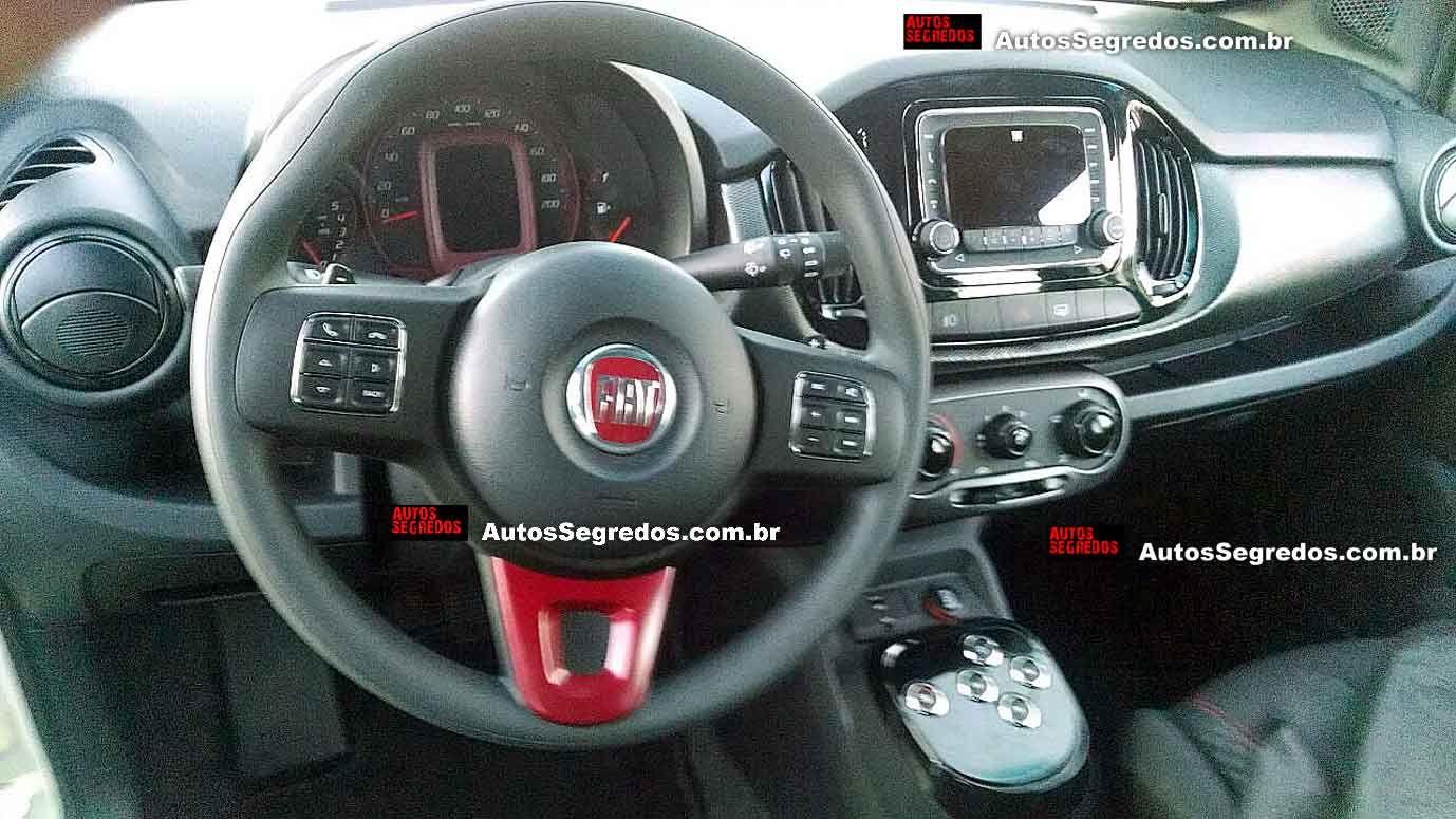 Este E O Interior Do Novo Fiat Uno 2015 Novo Fiat Fiat Uno