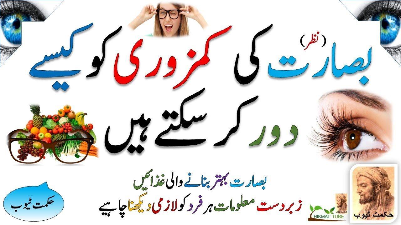 eyesight problem solution in urdu/hindi/eyes problems in