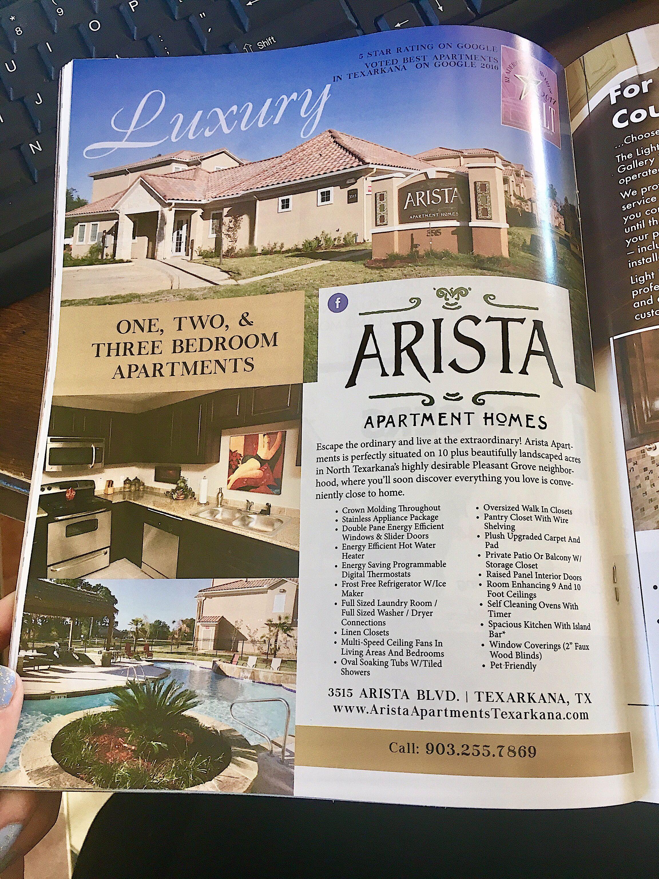 Voted Texarkana S Best Apartment Complex By Alt Magazine