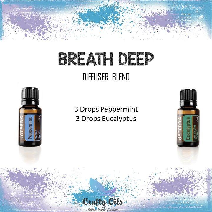 Breathe Deep Essential Oil Diffuser Blend