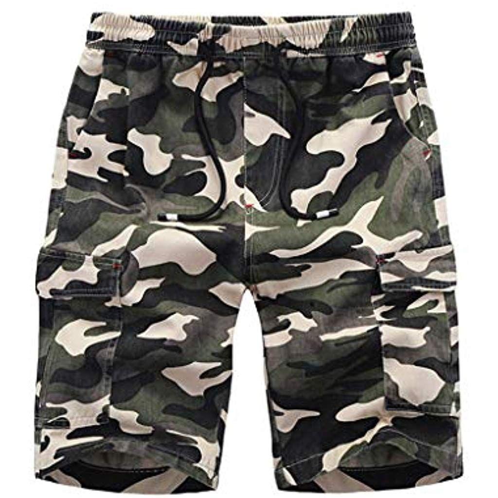 Bekleidung Herren Sommer Freizeit Camouflage Jogger