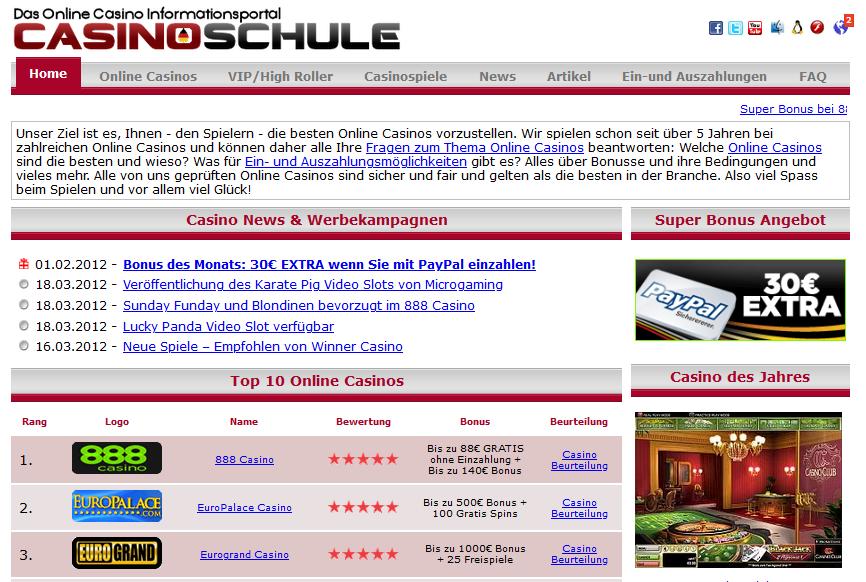 Online casino email list