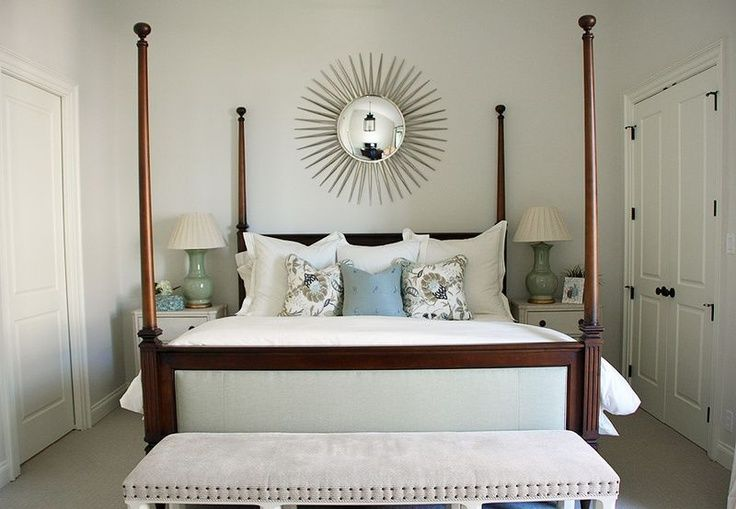 Love Sunburst Mirrors Over Beds Mirror Over Bed Home Goods