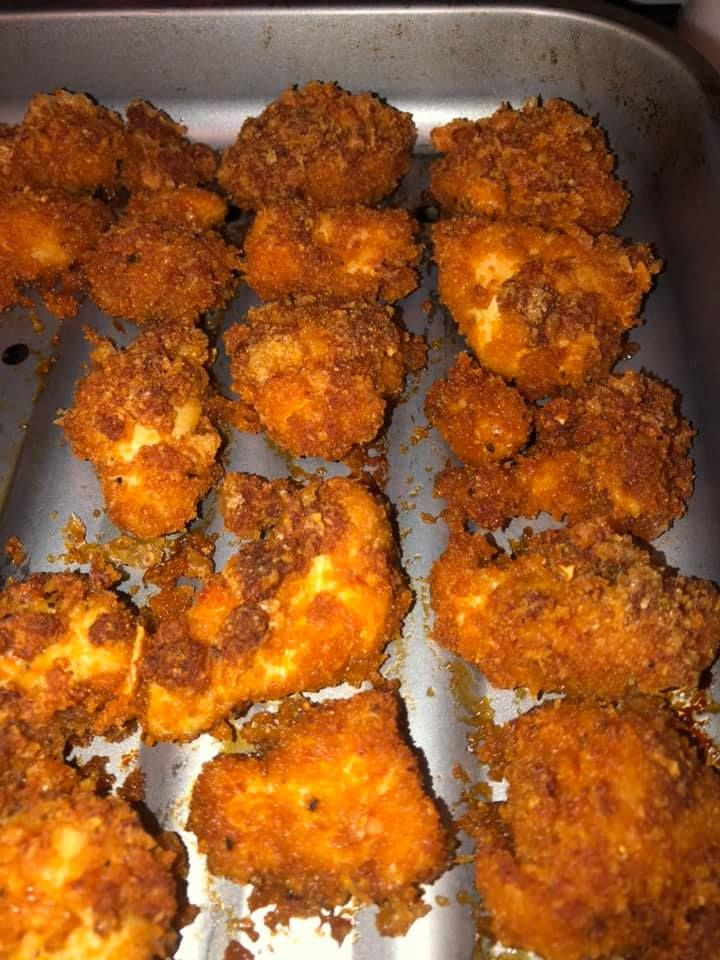 Keto Crispy Chicken Nuggets Crispy chicken, Keto pork
