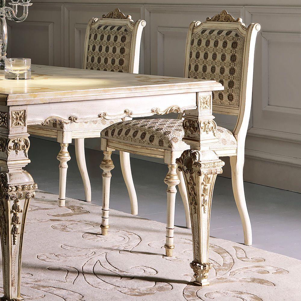 Italian Designer Louis Xiv Dining Table Set All Modern Furniture Vintage Dining Chairs Furniture