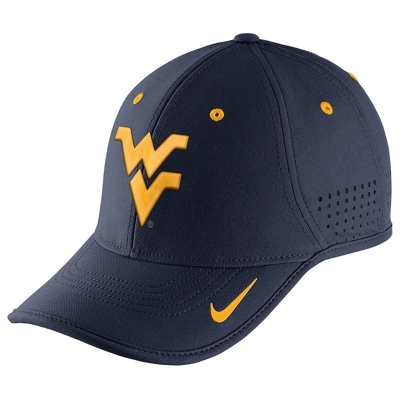 Adult Nike West Virginia Mountaineers Dri-FIT Coaches Adjustable Cap, Multicolor