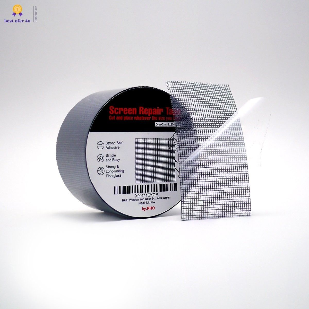 Window And Door Screen Repair Tape 3 Layer Strong Waterproof Just Cut And  Place |