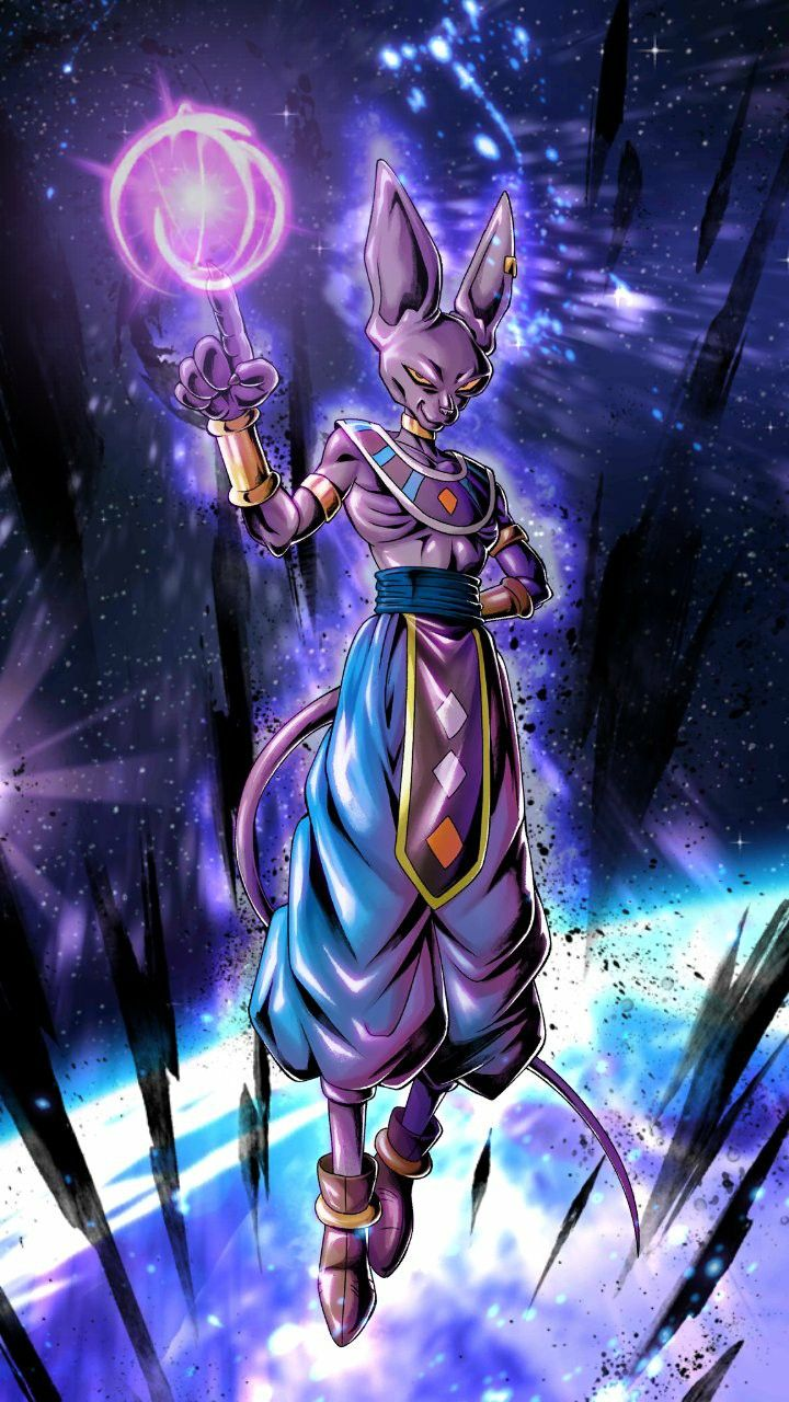 God Of Destruction Lord Beerus Anime Dragon Ball Anime Dragon Ball Super Dragon Ball Wallpapers