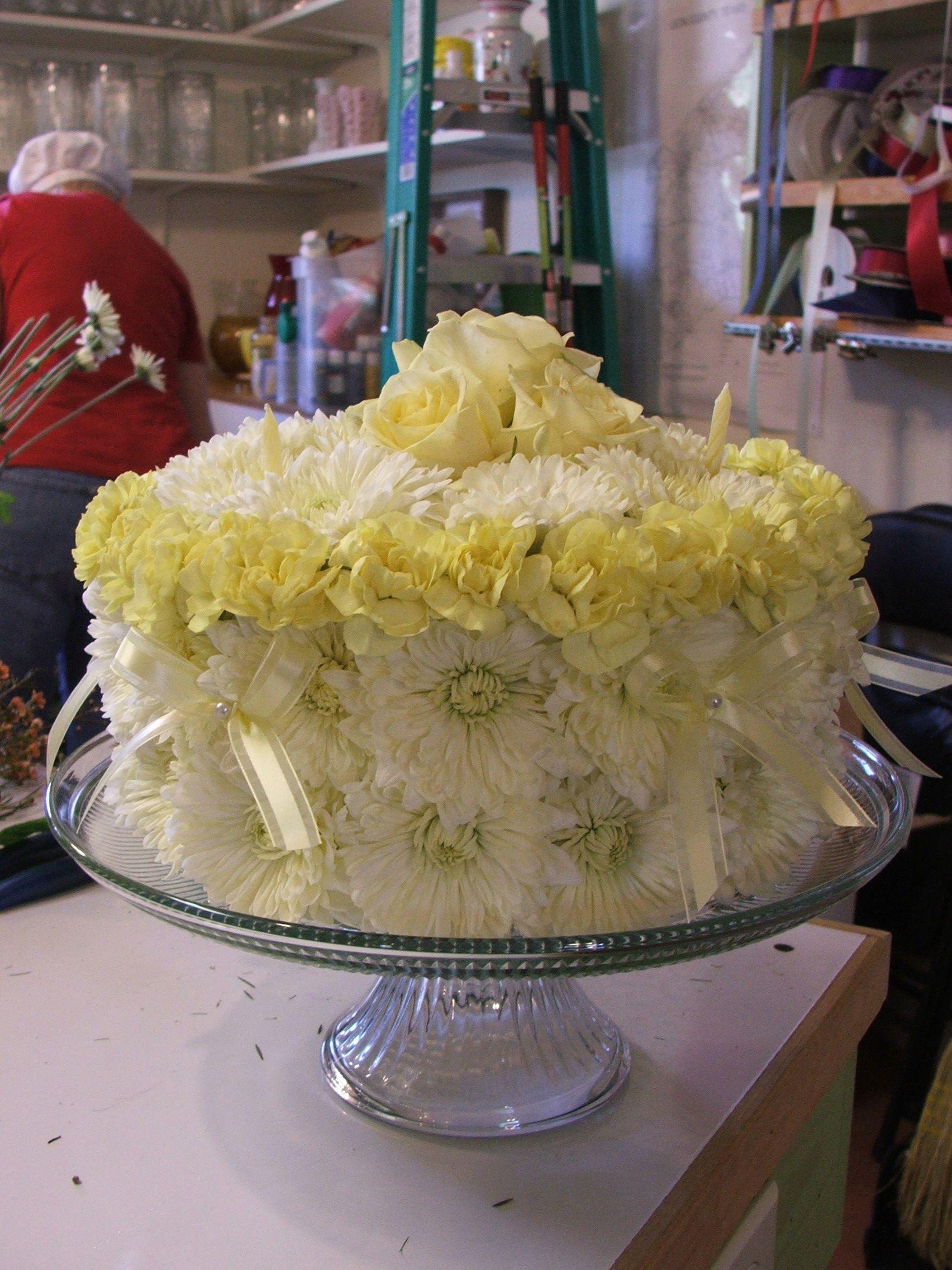 Flower Birthday Cake Design Cupcake Fresh Unique
