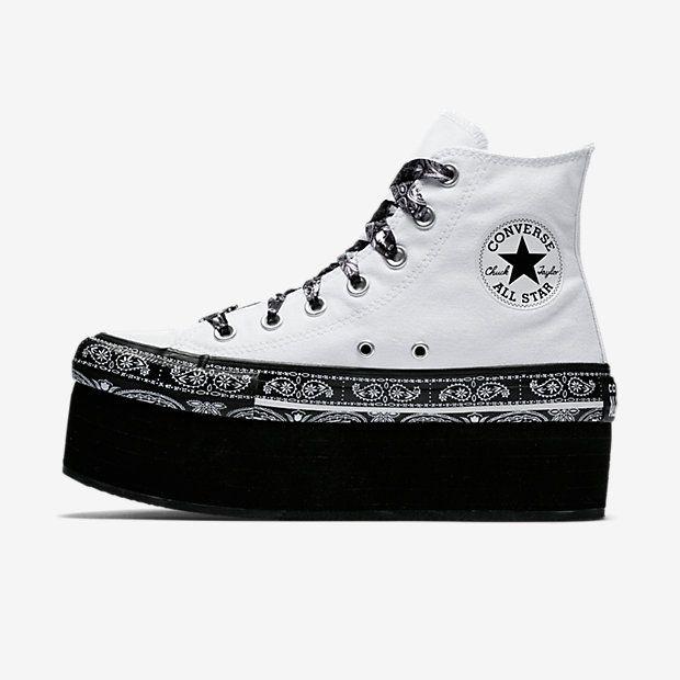 95290feff1d Converse x Miley Cyrus Chuck Taylor All Star Platform High Top Women s Shoe