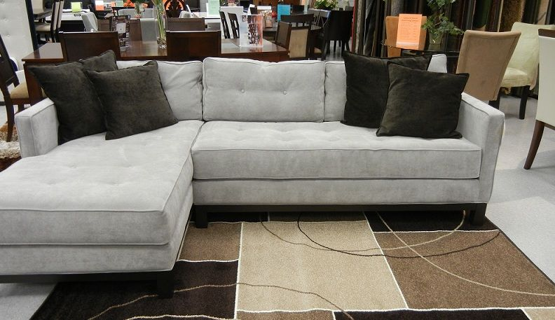 Real Deal Furniture The Retro Sectional Shades Of Grey Living