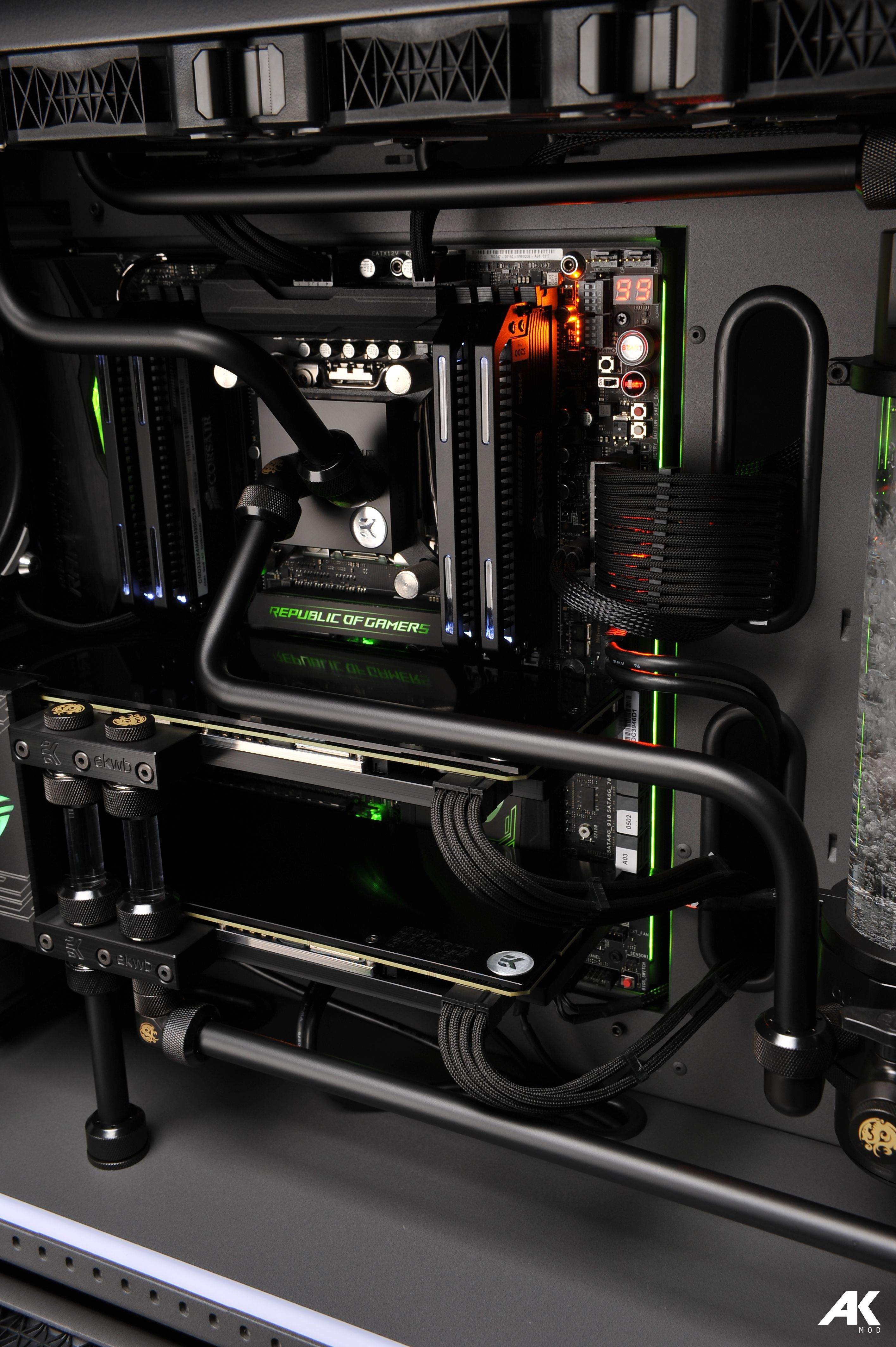 Green Rog The Build Is Inside A Caselabs Sma8 Case Which Is