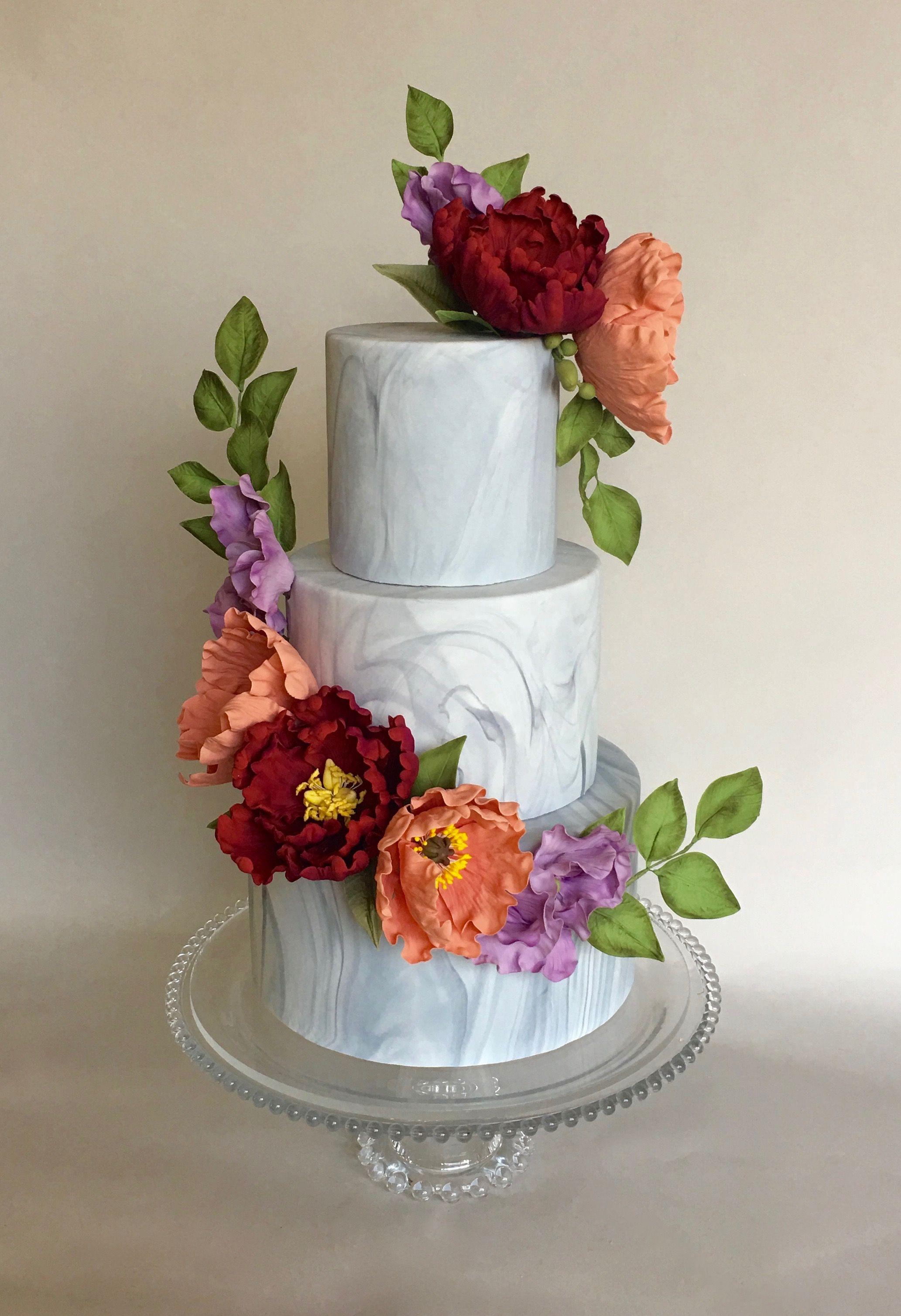 Custom Wedding Cakes — Honey Crumb Cake Studio Seattle