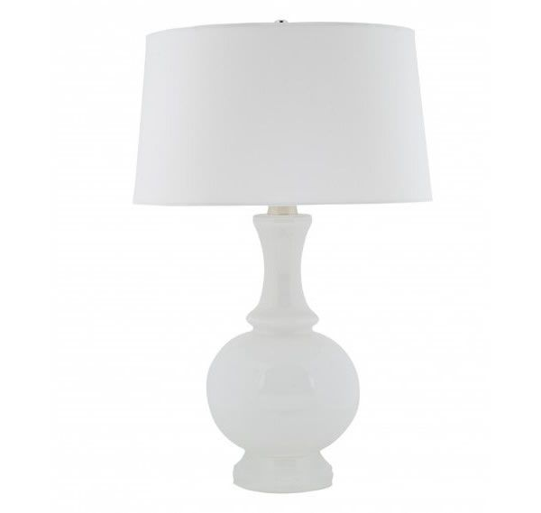 Awesome Chic White Table Lamps For A Modern Interior