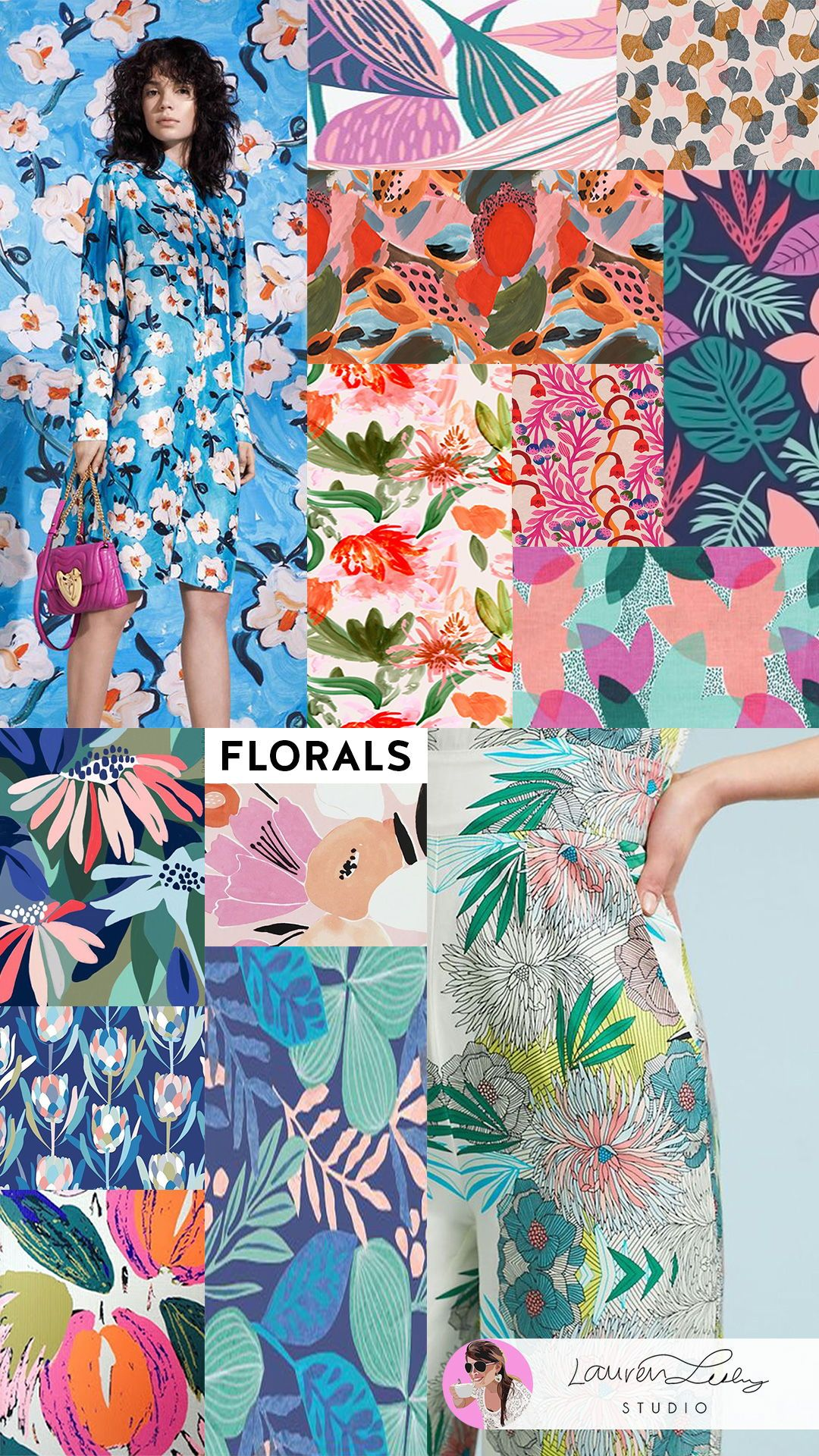 Flora Design Trend Report SS5  Floral Wallpaper  Trend Report