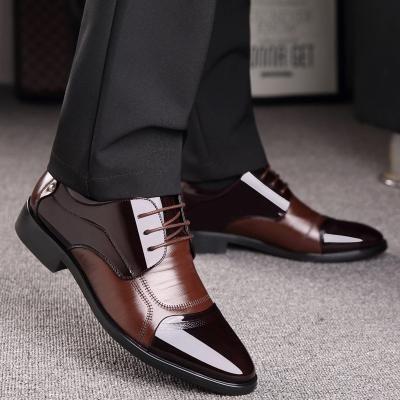 Printemps Oxford Hommes D'affaires Chaussures En Cuir Véritable Doux Casual Respirant Appartements Zip Chaussures   – Products