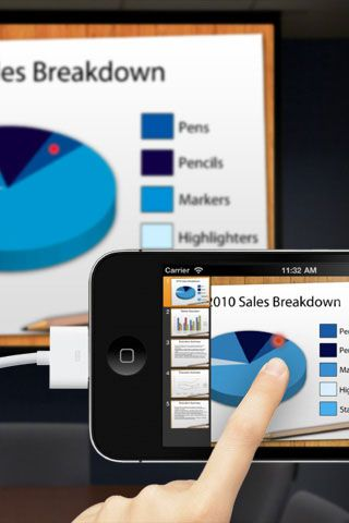 Quickoffice® Pro for iPhone Present from the palm of your hand VGA - scan to spreadsheet app iphone