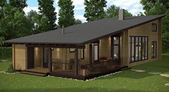 Imagen 1 de casa londres ii de 105m2 casa pinterest londres casas de madera y viviendas - Vivir en una casa prefabricada ...