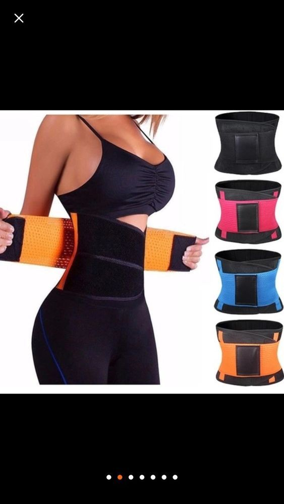 be775f473a  Teal  Women Body Shaper Latex Waist Trainer  fashion  clothing  shoes