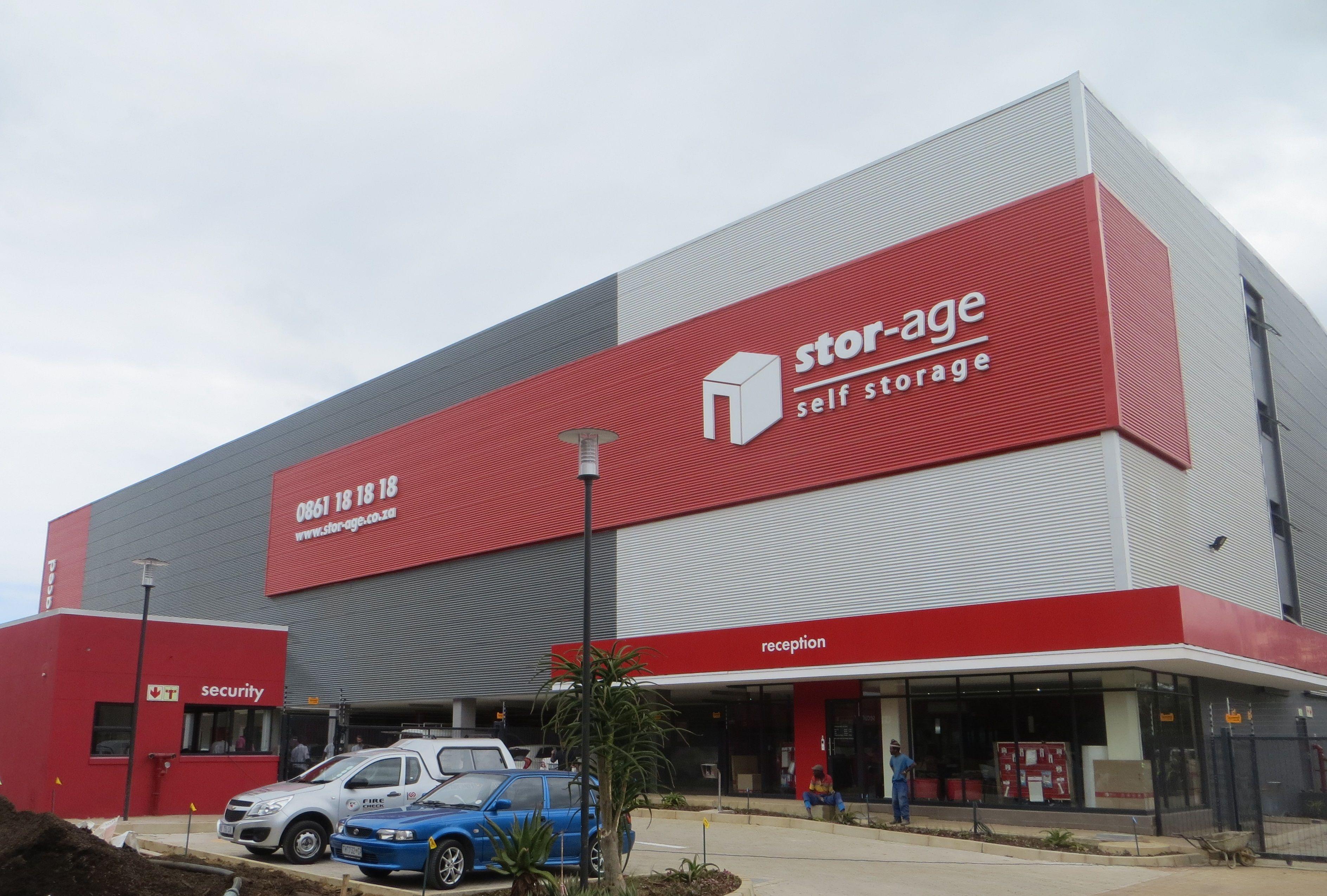 Stor Age Mount Edgecombe Self Storage Self Storage Units Industrial Buildings
