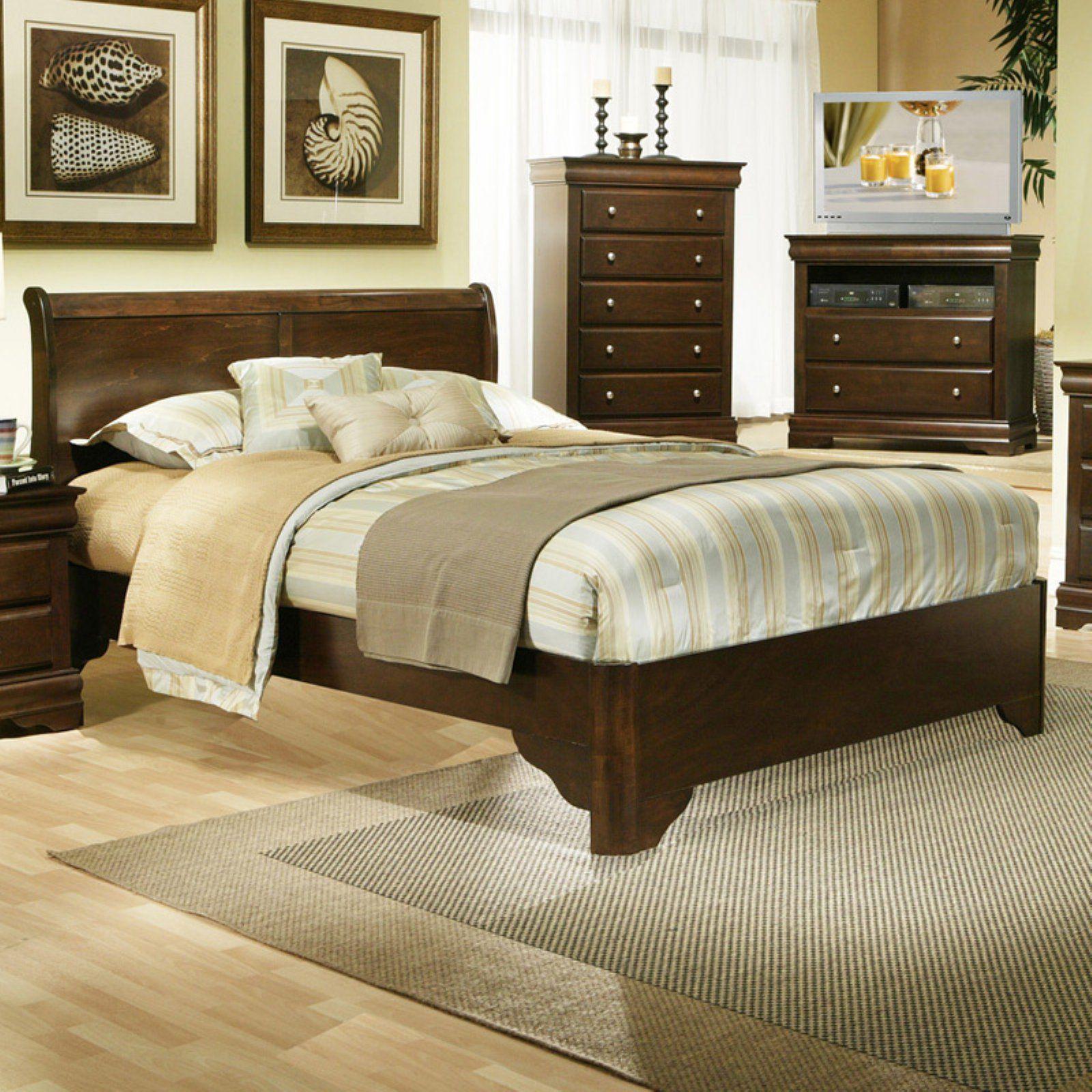 Alpine Furniture Chesapeake Sleigh Bed Alpine furniture