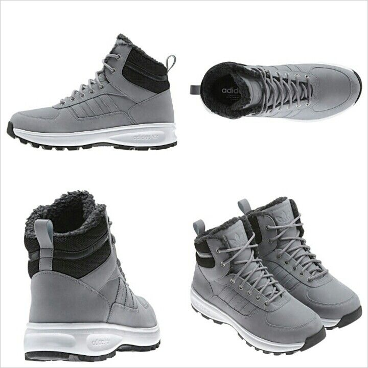 Chasker Winter Boots #adidas #original #grey #man #winter