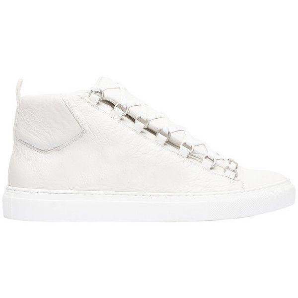 fd07a07694de Balenciaga Arena High Sneakers ( 585) via Polyvore featuring shoes ...