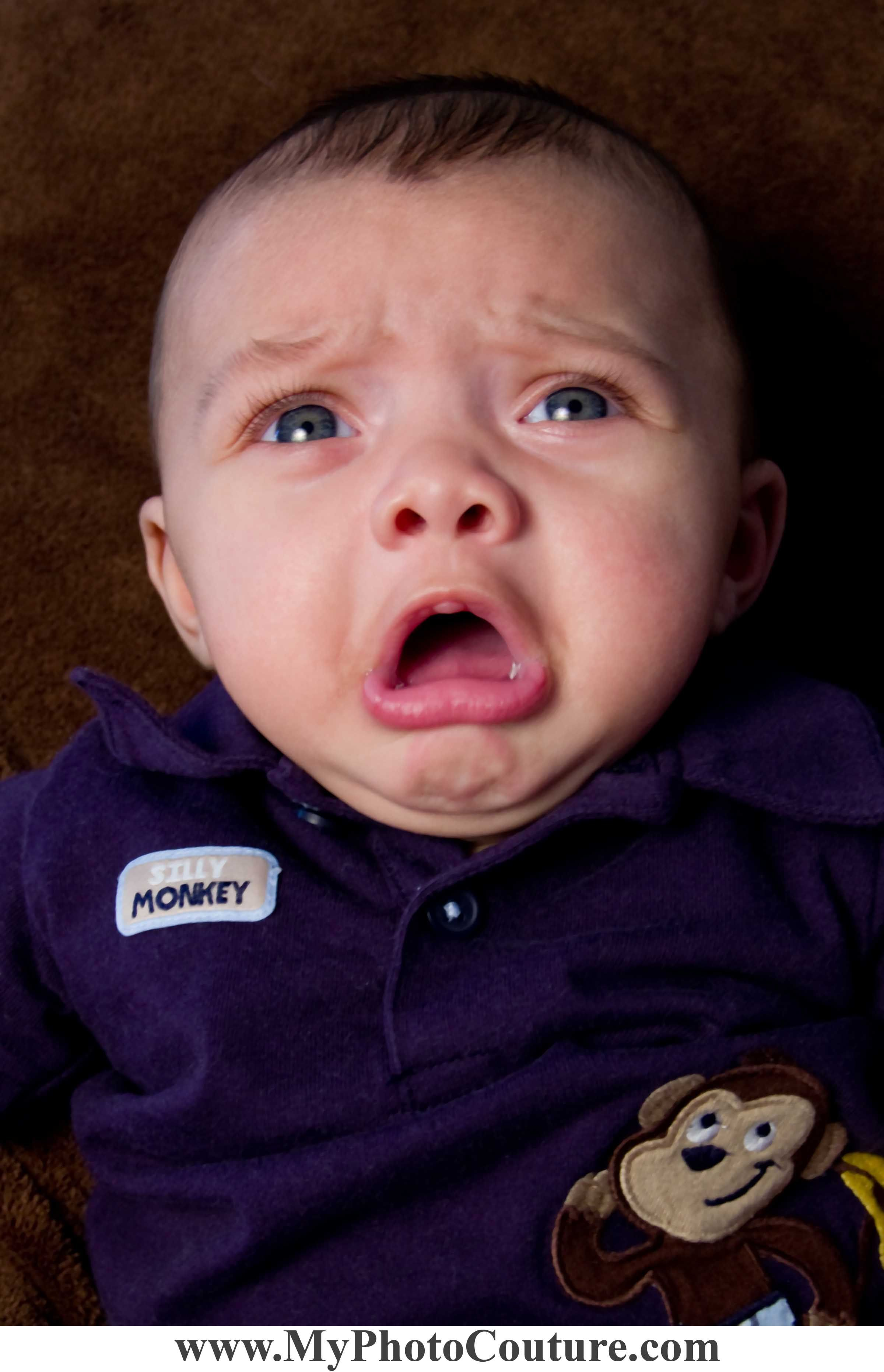 Crying Baby Funny Cute Phototgraphy My Photo Couture
