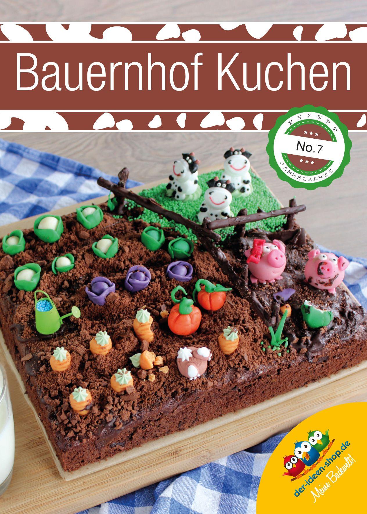 Rezept 7 Bauernhofkuchen Zucchini Schoko Kuchen Kinder