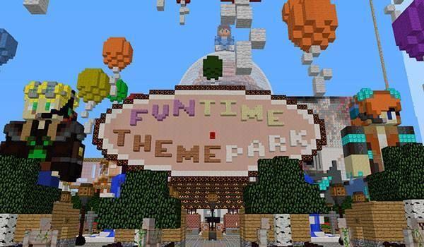 Fun Time Theme Park Map Para Minecraft 111 Minecraft Pcgames