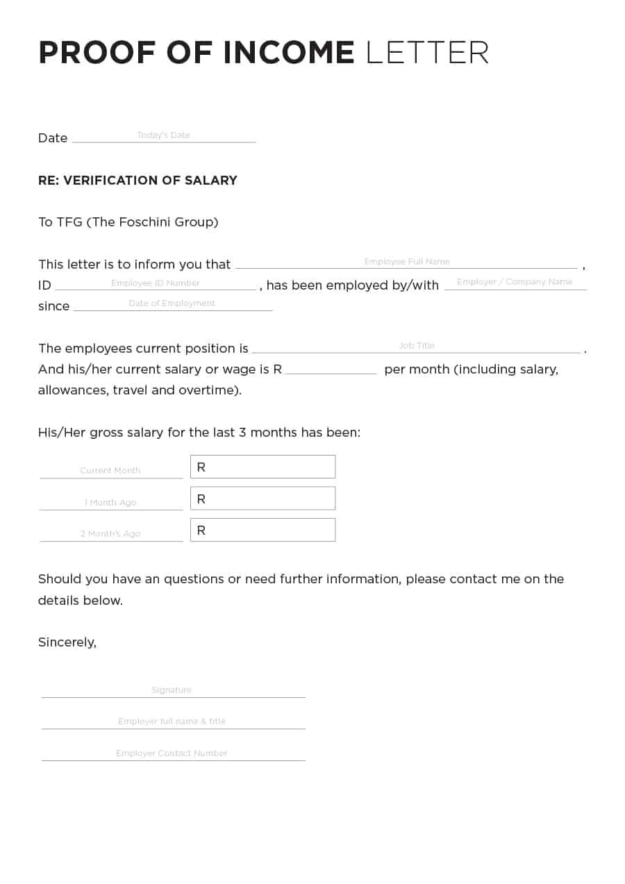 40+ Verification Letter Samples (& Proof of