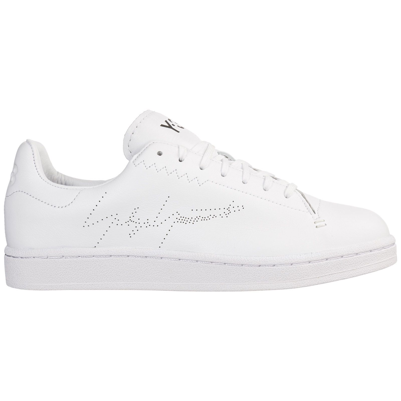 Y-3 Men's Shoes Leather Trainers