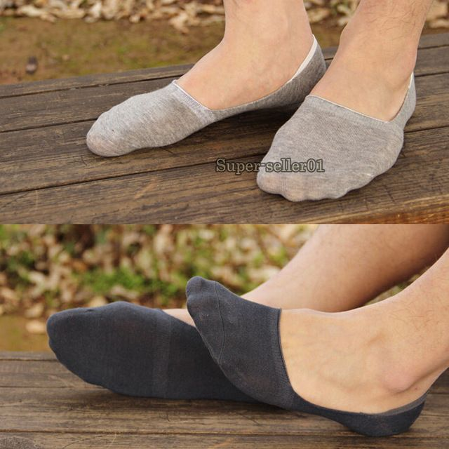 6f15b56d2 1 Pair Men s Casual Cotton Loafer Boat Non-Slip Invisible Low Cut No Show  Socks New