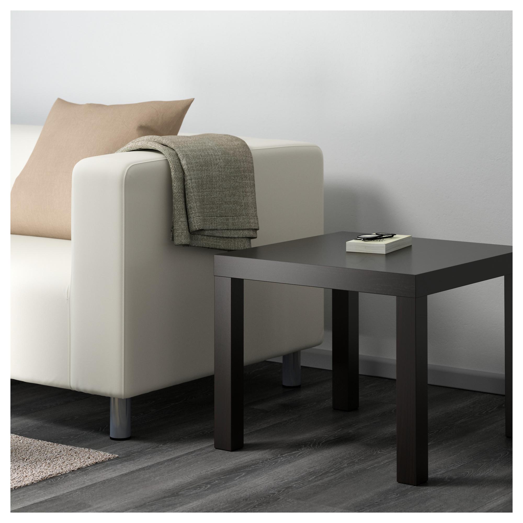 IKEA LACK Side table blackbrown Ikea lack side table