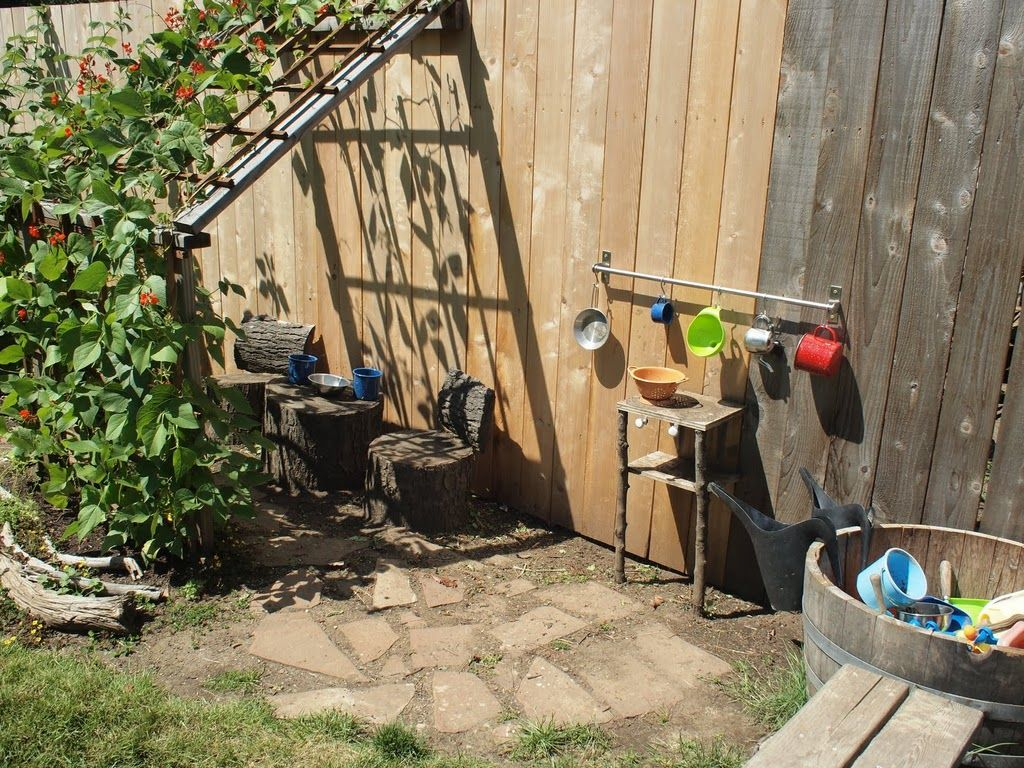 Garden Ideas Play Area nice idea for creating shade around the play area | kid friendly