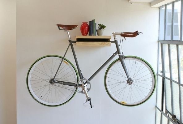 Great The Original Bike Shelf By Knife U0026 Saw Design