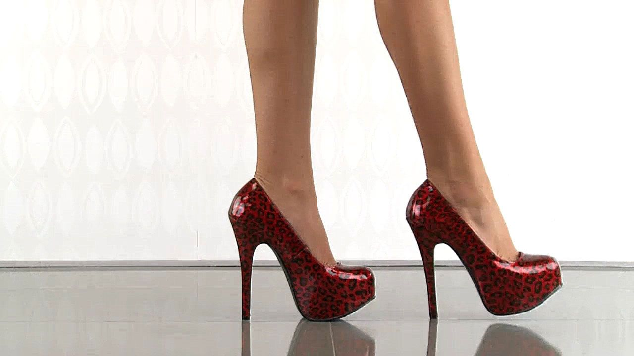 6 inch heels red - Google Search