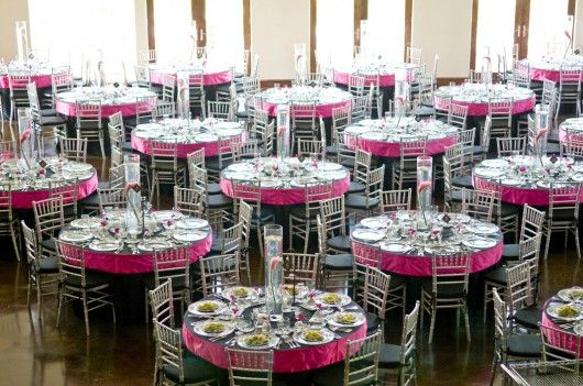 080704 adellawedding 128 530x351 wedding featuring chairs linens glassware china and silverware