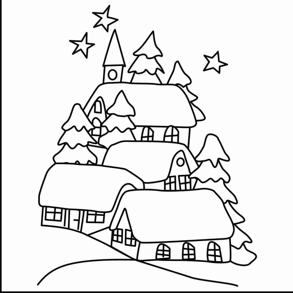 Nature Coloring Pages For Toddlers
