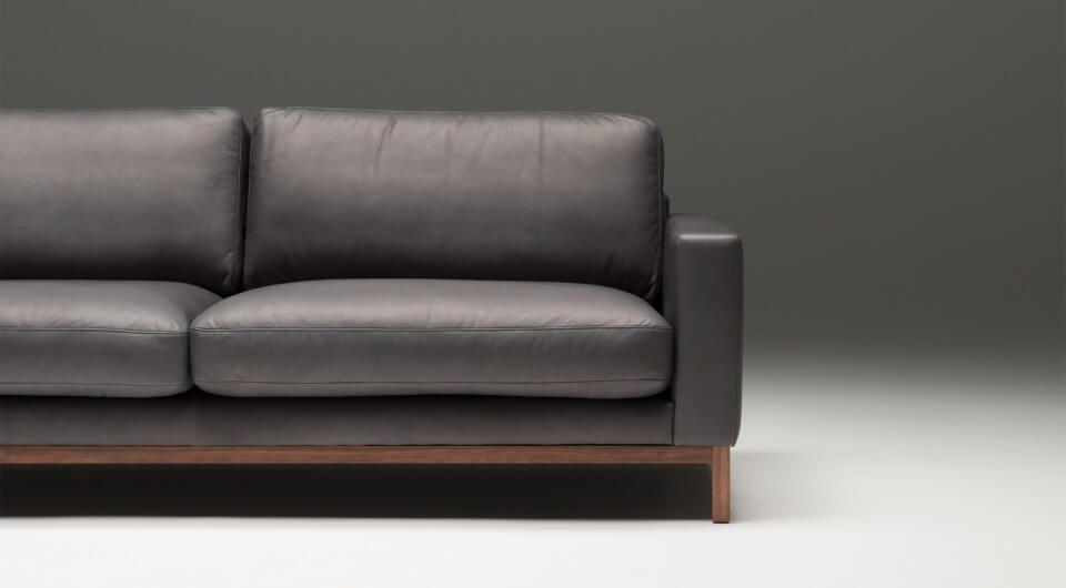 3 Sitzer Tom Sofa Design Designer Couch Sitzfeldt