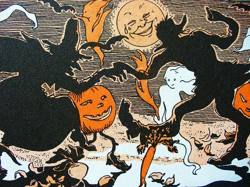 vintage Halloween illustrations , Google Search