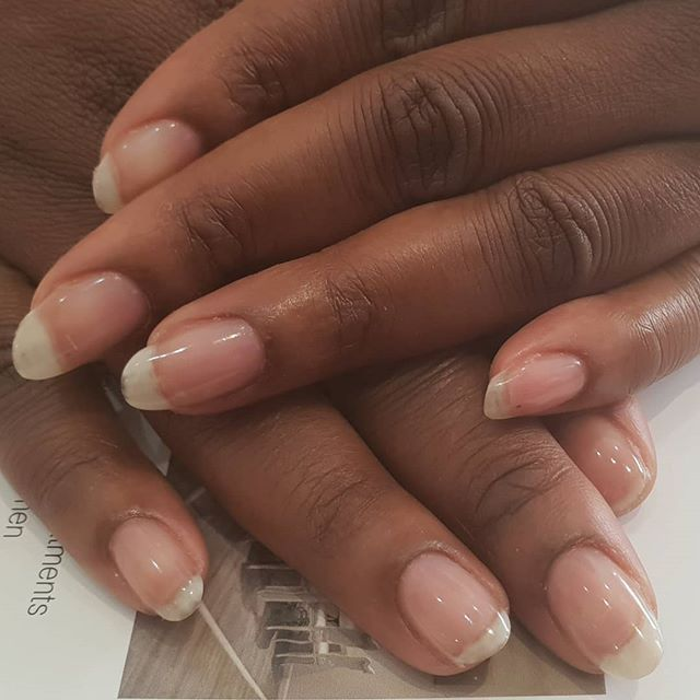 Natural nails after ibxnails We are natural nail care specialists and we love to help you grow your nails. Check out our blog on queenb.london to unde…