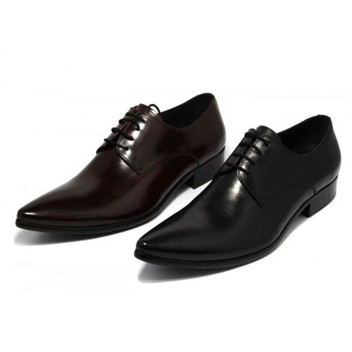 c35f08399b805 Chaussures de costume cuir pointues upper lisse   Chaussures Homme ...