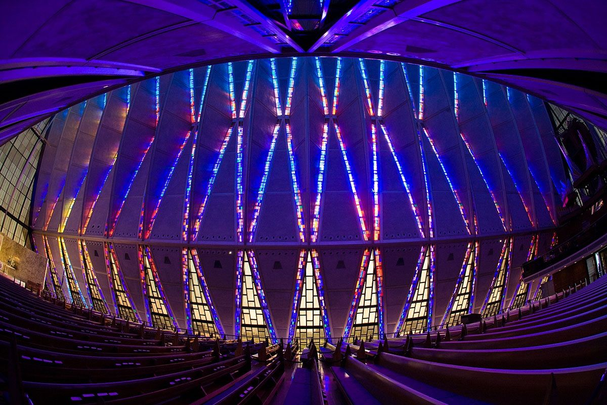 The United States Air Force Academy Cadet Chapel Air