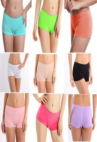 7c12fadc3c2 Wholesale Lot 20 Plain Cotton Boyshort Panties