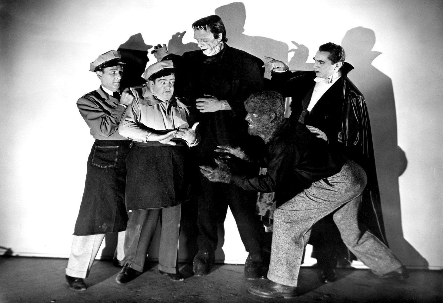 Abbot and Costello Meet Frankenstein Print Abbott and