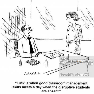 Classroom Management Cartoons
