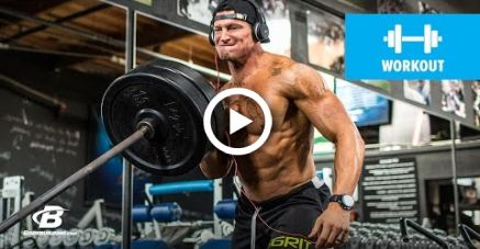 Shoulders and Abs Hypertrophy Workout | True Muscle Trainer: 9 Weeks To Elite Fitness #fitness