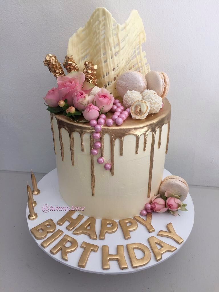 Terrific Floral With Images Beautiful Birthday Cakes Cake Decorating Funny Birthday Cards Online Aeocydamsfinfo