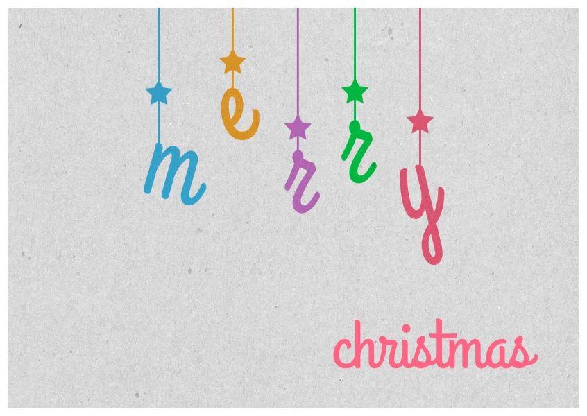 Merry Christmas from above | Frohe Weihnachten | Echte Postkarten online…